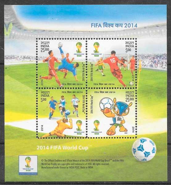 sellos deporte India 2014