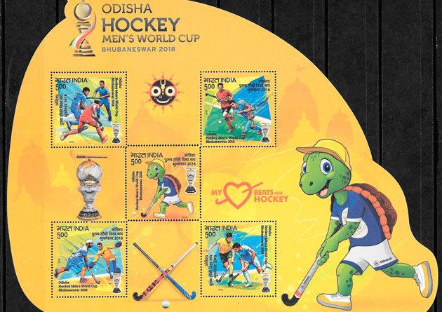sellos deporte India 2018