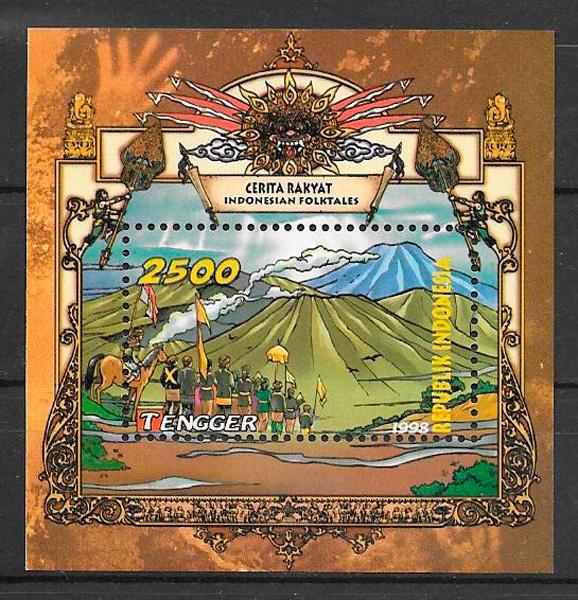 sellos cuentos Indonesia 1998