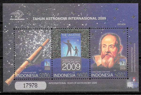 sellos espacio Indonesia 2009