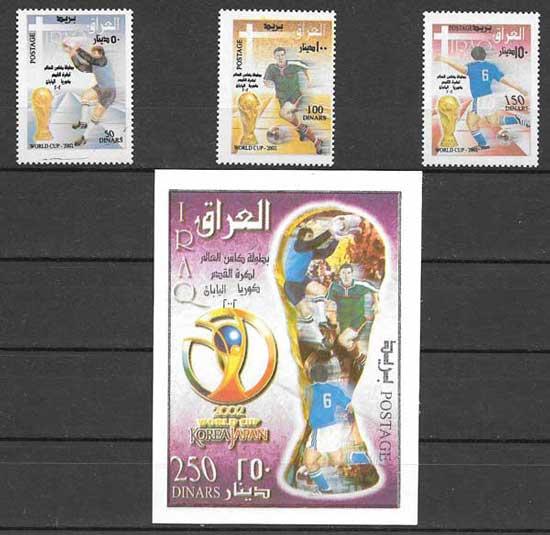 Colección sellos Iraq-2002-01