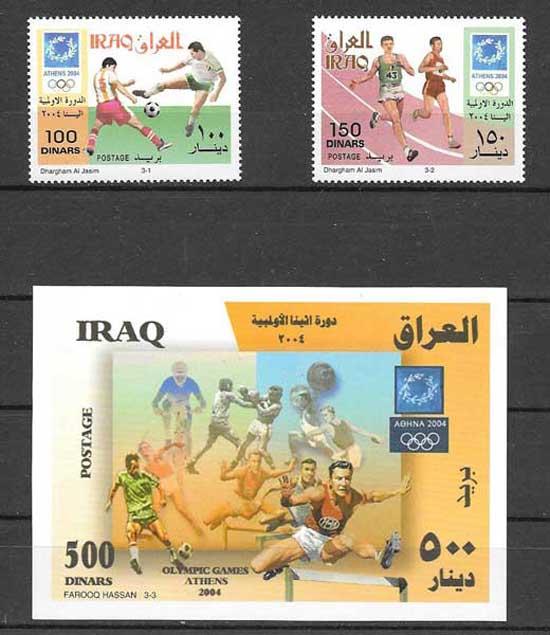 filatelia arte Iraq 2005