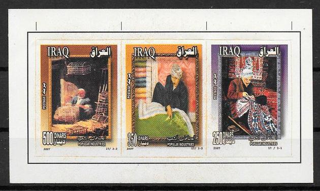 colección sellos arte Iraq 2007