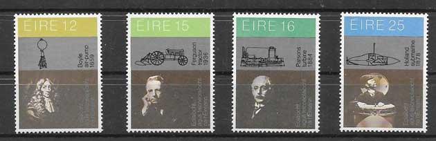 Colección sellos Personalidades irlandesas 1981