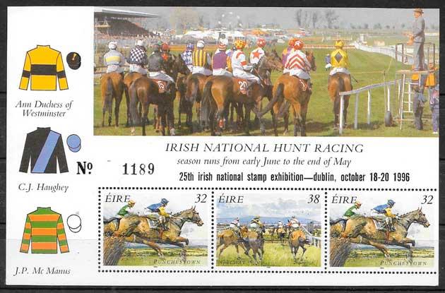 sellos colección deporte Irlanda 1996