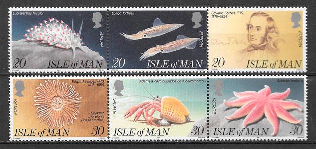 filatelia colección Europa Isla de Man 1994