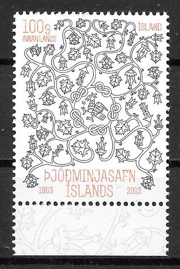 filatelia arte Islandia 2013