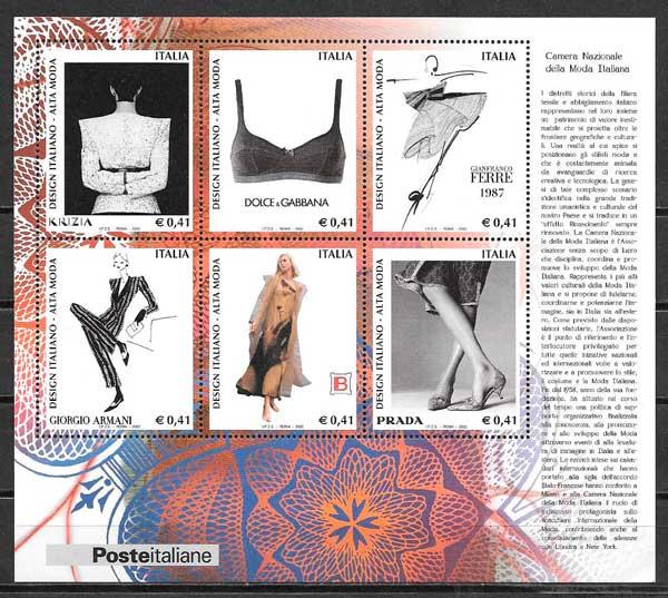 sellos arte Italia 2002