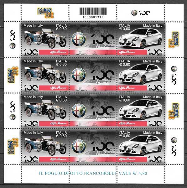 sellos transporte Italia 2014