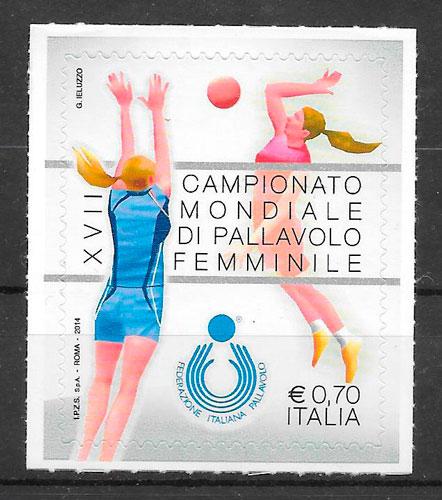 sellos deporte Italia 2014