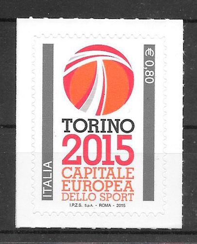 sellos deporte Italia 2015