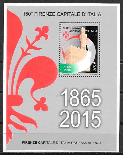 sellos arquitectura y turismo Italioa 2015