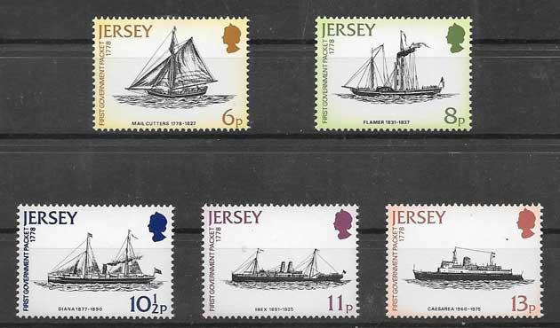 Sellos transporte marítimo postal 1978