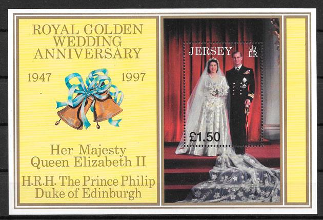 sellos personalidades Jersey 1998