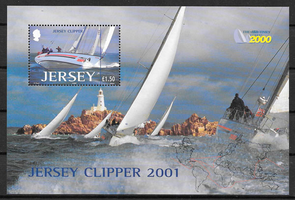 sellos deporte Jersey 2001