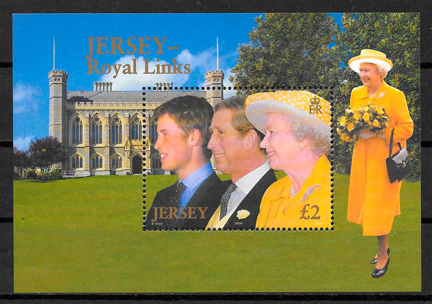 sellos personalidad Jersey 2003