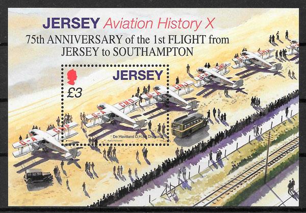 colección sellos deporte Jersey