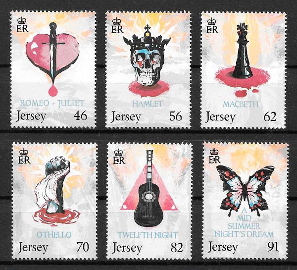 sellos arte Jersey 2014
