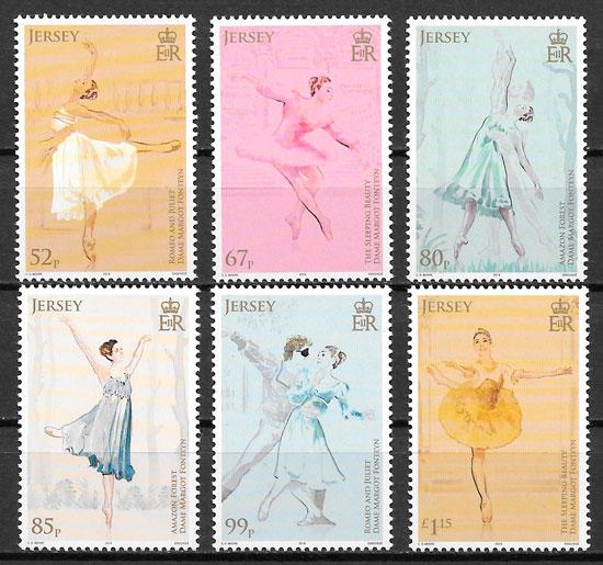 colección sellos arte Jersey 2019