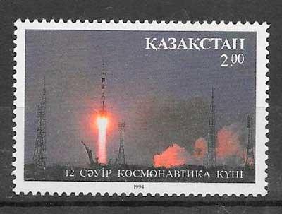 filatelia espacio 1994