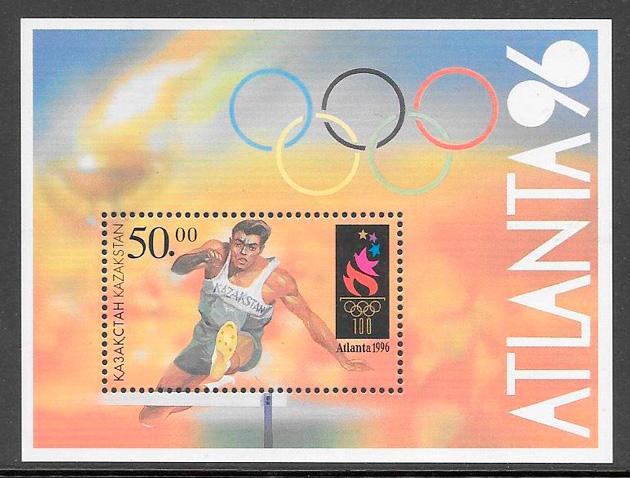 sellos deporte Kazakstán 1996