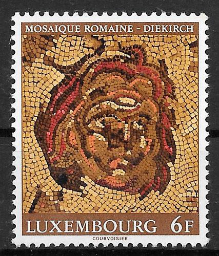 sellos arte Luxemburgo 1977