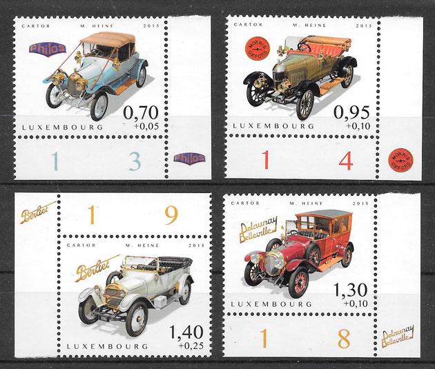 sellos transporte Luxemburgo 2015