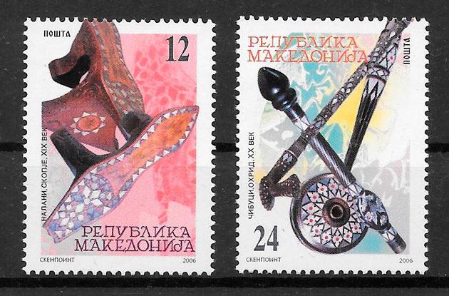 filatelia arte Macedonia 2006