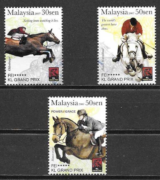 sellos deporte Malasia 2007