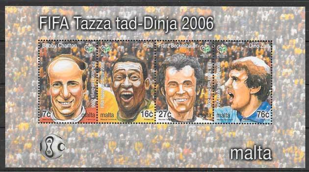 sellos deporte Malta 2006