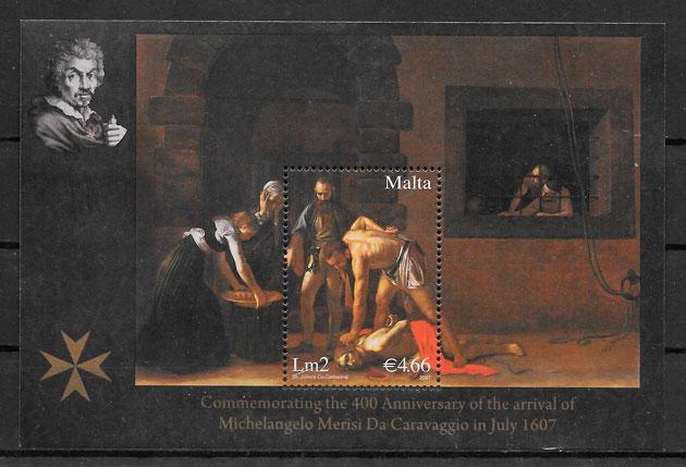 sellos arte Malta 2007