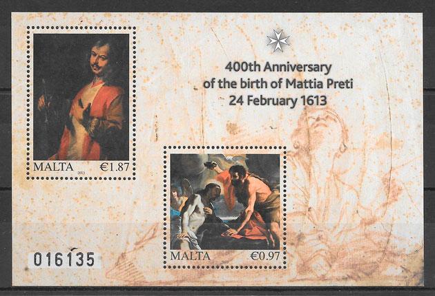 sellos arte Malta 2013