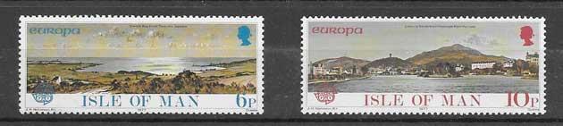 Tema Europa Isla de Man 1977