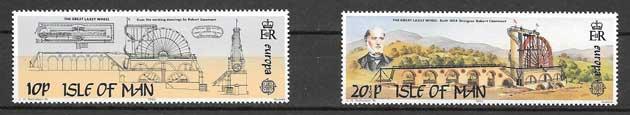 Estampillas Tema Europa 1983