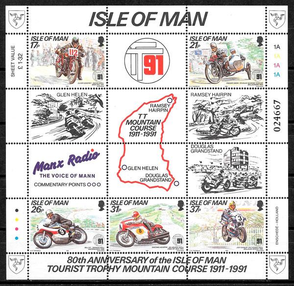 sellos deporte Isla de man