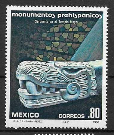 sellos arte México 1980