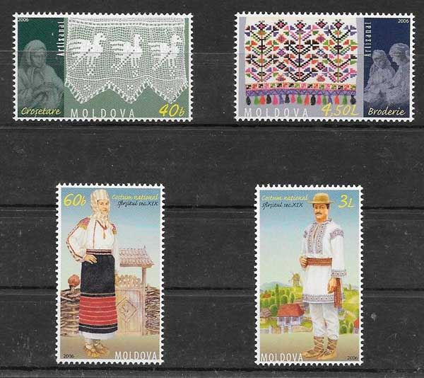Filatelia arte Moldavia 2006