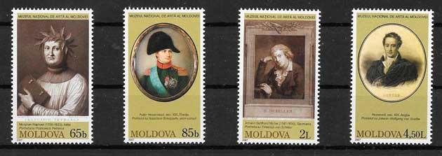 sellos arte Moldavia 2007