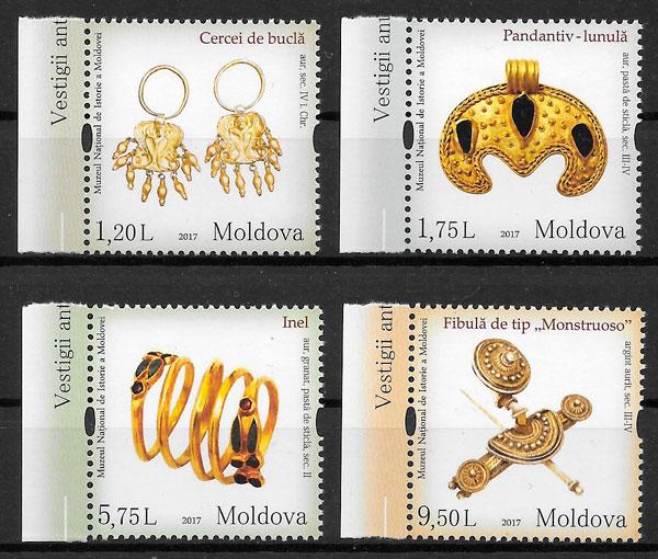 sellos arte Moldavia 2017