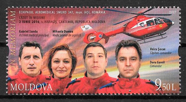 sellos transporte Moldavia 2017
