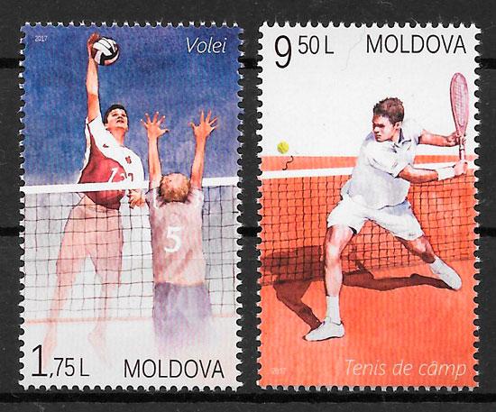 sellos deporte Moldavia 2017