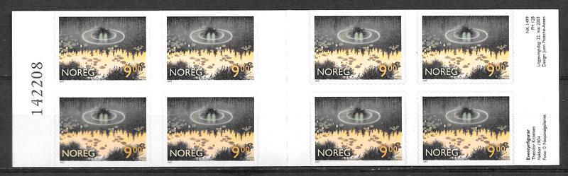 colección sellos cuentos Noruega 2003