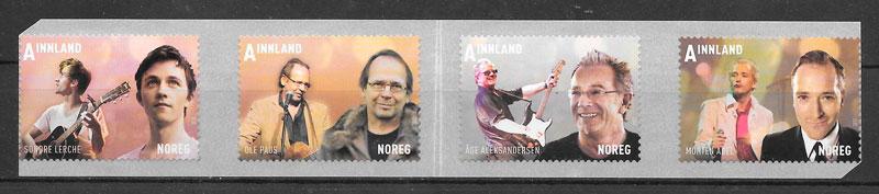 filatelia arte Noruega 2012