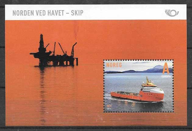 Sellos transporte Noruega