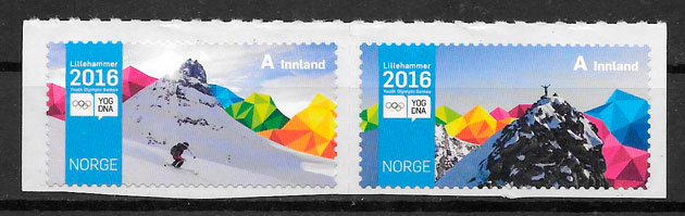 sellos deporte Noruega 2016