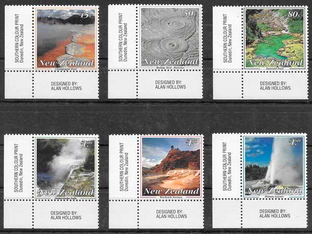 sellos arquitectura nueva Zelanda 1993
