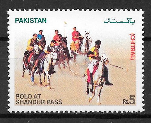 filatelia colección deporte Pakistán 2006