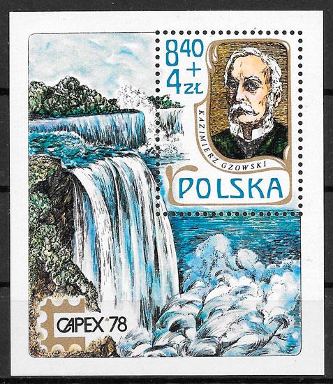 sellos personalidad Polonia 1978