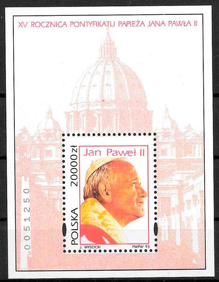 selos personalidad Polonia 1991