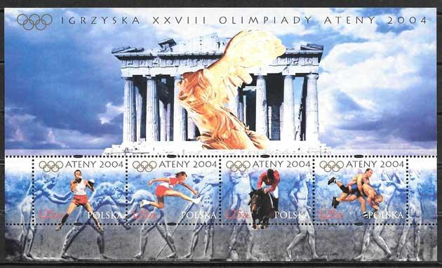 sellos deporte Polonia 2002